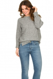 Knit-ted |  Knitted sweater Nila | grey  | Picture 2