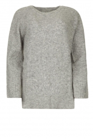 Knit-ted |  Knitted sweater Nila | grey  | Picture 1