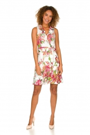 Hale Bob | Dress with floral print Flora | pink  | Picture 3