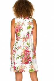 Hale Bob | Dress with floral print Flora | pink  | Picture 5