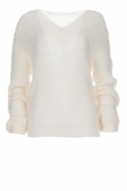 Knit-ted |  Sweater with V-neck Onah  | Picture 1
