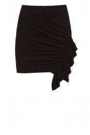 IRO |  Skirt with ruffle detail Zilka | black  | Picture 1