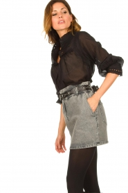 IRO | Denim skirt Sahel | grey  | Picture 4