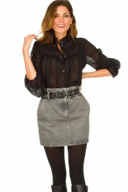 IRO | Denim skirt Sahel | grey  | Picture 2
