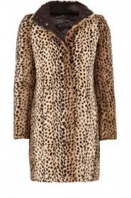 Patrizia Pepe | Faux fur reversible luipaardjas Duvet | luipaardprint  | Afbeelding 1