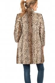 Patrizia Pepe | Faux fur reversible luipaardjas Duvet | luipaardprint  | Afbeelding 5