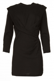 IRO |  Dress with shoulder details Beckett | black  | Picture 1