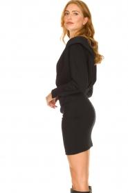 IRO |  Dress with shoulder details Beckett | black  | Picture 6