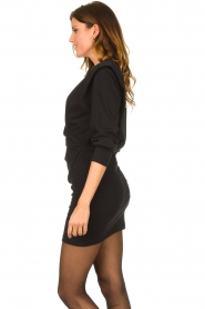 IRO |  Dress with shoulder details Beckett | black  | Picture 6