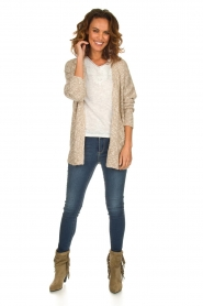 Knit-ted |  Cardigan Abigail | brown  | Picture 3