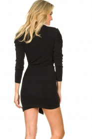 IRO |  Turtleneck top with lurex Livanda | black  | Picture 6
