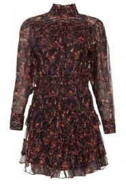 IRO |  Dress with ruffles Kasra | black  | Picture 1