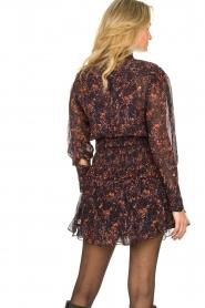IRO |  Dress with ruffles Kasra | black  | Picture 7
