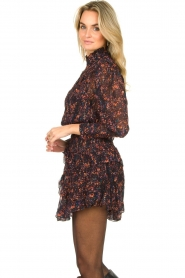 IRO |  Dress with ruffles Kasra | black  | Picture 6