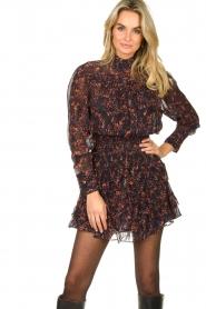 IRO |  Dress with ruffles Kasra | black  | Picture 5