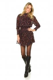 IRO |  Dress with ruffles Kasra | black  | Picture 4