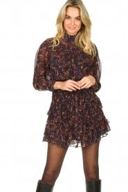 IRO |  Dress with ruffles Kasra | black  | Picture 2