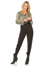 IRO | Trousers Jona | grey  | Picture 3