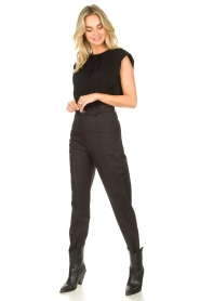 IRO | Trousers Jona | grey  | Picture 4