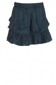 IRO | 100% zijden rok Faklie | donkerblauw  | Afbeelding 1
