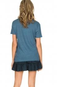 IRO | 100% zijden rok Faklie | donkerblauw  | Afbeelding 6