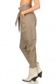 IRO |  Paperbag pants Alper | beige  | Picture 6