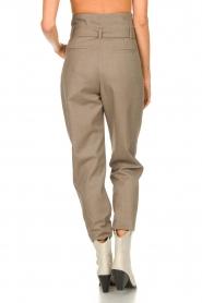 IRO |  Paperbag pants Alper | beige  | Picture 7