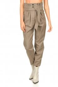 IRO |  Paperbag pants Alper | beige  | Picture 5
