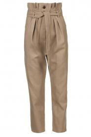IRO |  Paperbag pants Alper | beige  | Picture 1