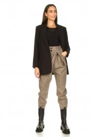 IRO |  Paperbag pants Alper | beige  | Picture 3