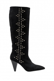 Sofie Schnoor    High boots with studs Chrystal   black    Picture 1
