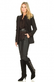 Sofie Schnoor    High boots with studs Chrystal   black    Picture 2