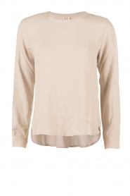 Knit-ted | Top Paula | sand  | Afbeelding 1
