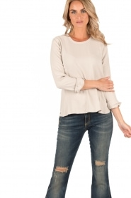 Knit-ted | Top Paula | sand  | Afbeelding 2