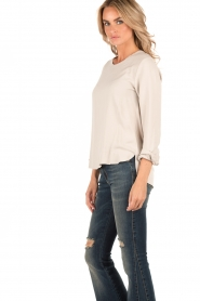 Knit-ted | Top Paula | sand  | Afbeelding 4