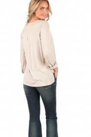 Knit-ted | Top Paula | sand  | Afbeelding 5
