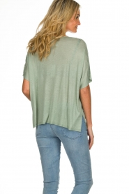 Knit-ted |  Top Lisa | green  | Picture 6
