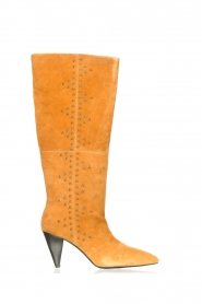 Sofie Schnoor |  High boots with studs Chrystal | camel  | Picture 1