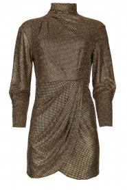 IRO |  Metallic dress Rasile | black  | Picture 1