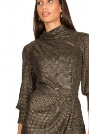 IRO |  Metallic dress Rasile | black  | Picture 7