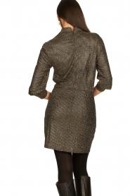 IRO |  Metallic dress Rasile | black  | Picture 6