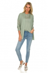 Knit-ted |  Cardigan Liv | green  | Picture 3
