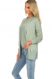 Knit-ted |  Cardigan Liv | green  | Picture 5