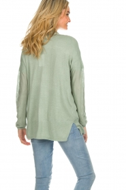 Knit-ted |  Cardigan Liv | green  | Picture 6
