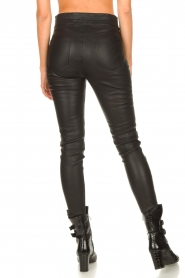IRO |  Lamb leather pants Forn | black  | Picture 7