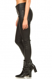 IRO |  Lamb leather pants Forn | black  | Picture 6