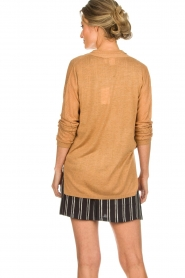 Knit-ted |  Cardigan Liv | brown  | Picture 5