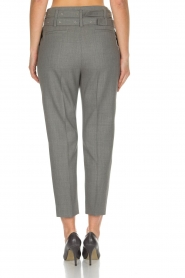 IRO | Pantalon met twee riemen Lana | Grijs  | Afbeelding 5