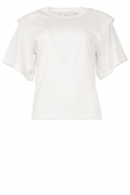 IRO | T-shirt with shoulder details Belly | white  | Picture 1