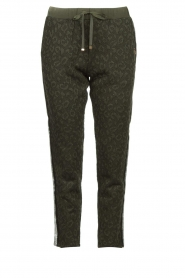 Liu Jo |  Animal printed pants Forrina | green  | Picture 1